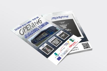 Flyer opening jeugdsoos 'Mainstreet 21' Eenrum