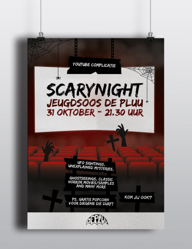 Poster scarynight