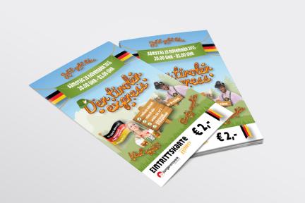 Entreekaart Der Tiroler Express