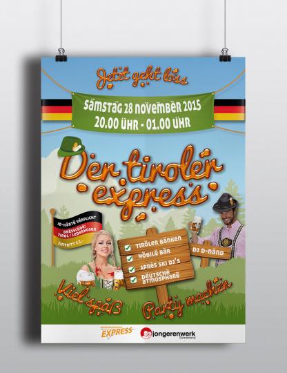 Poster Der Tiroler Express
