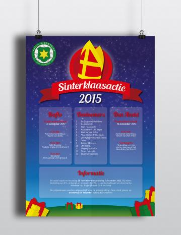 Poster Sinterklaasactie