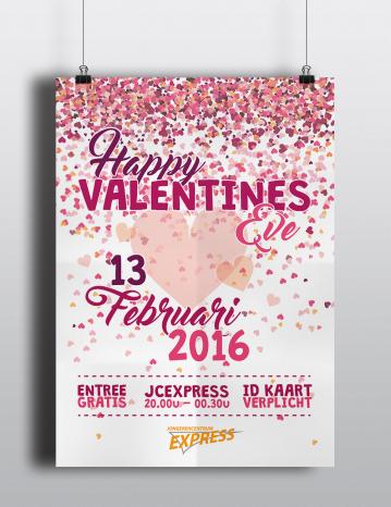 Poster Valentines Eve