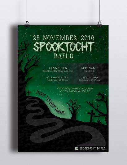Spooktocht Baflo 2016