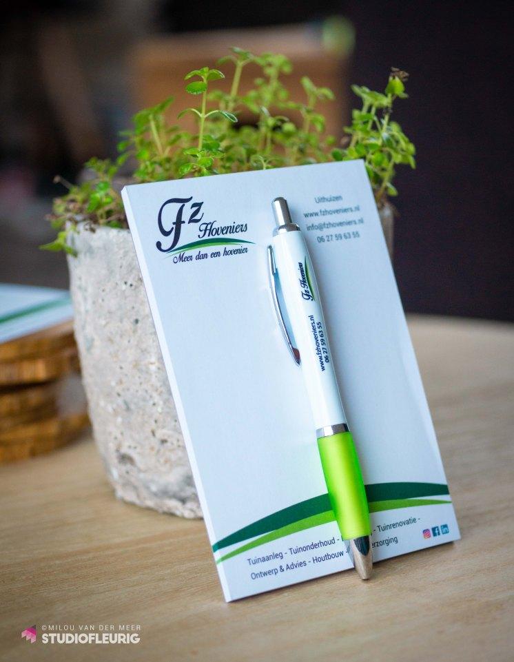 Notitieblokken en pennen